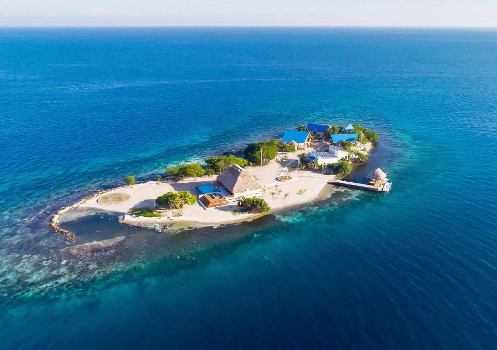 KANU Island v nabídce PrivateIslandOnline.com - letecký pohled