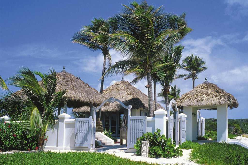 Musha Cay Bahamy - David Copperfield - domek na pláži (VillaGuru.com)