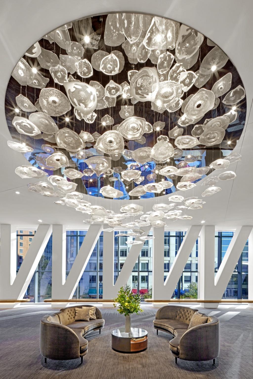 Preciosa Lighting - Conrad hotel Washington 2