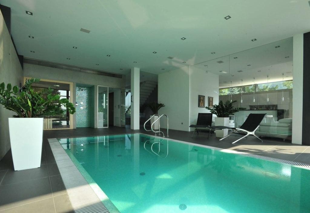 Vila Barrandov (Zumtobel) - vnitřní bazén