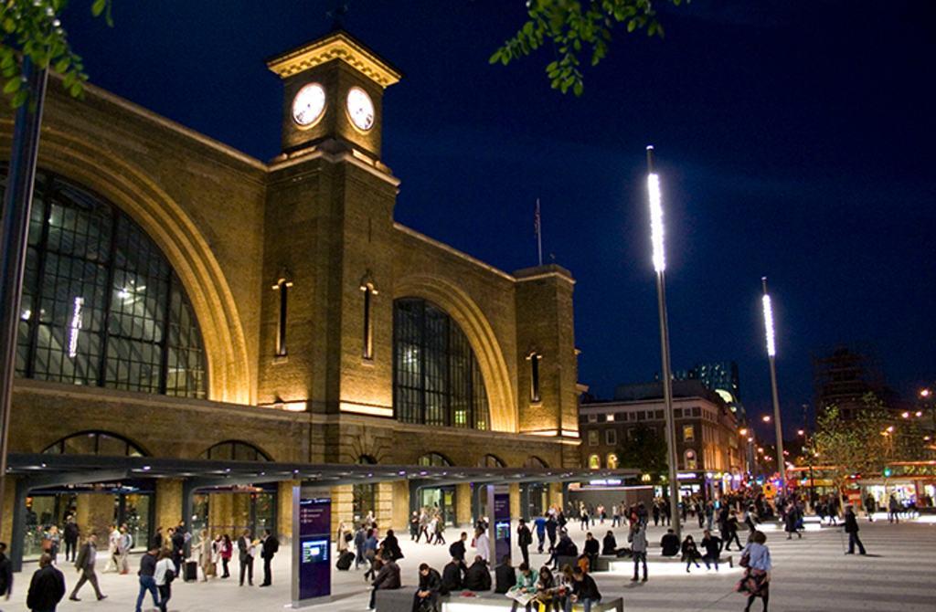 King´s Cross station Londýn - Beam