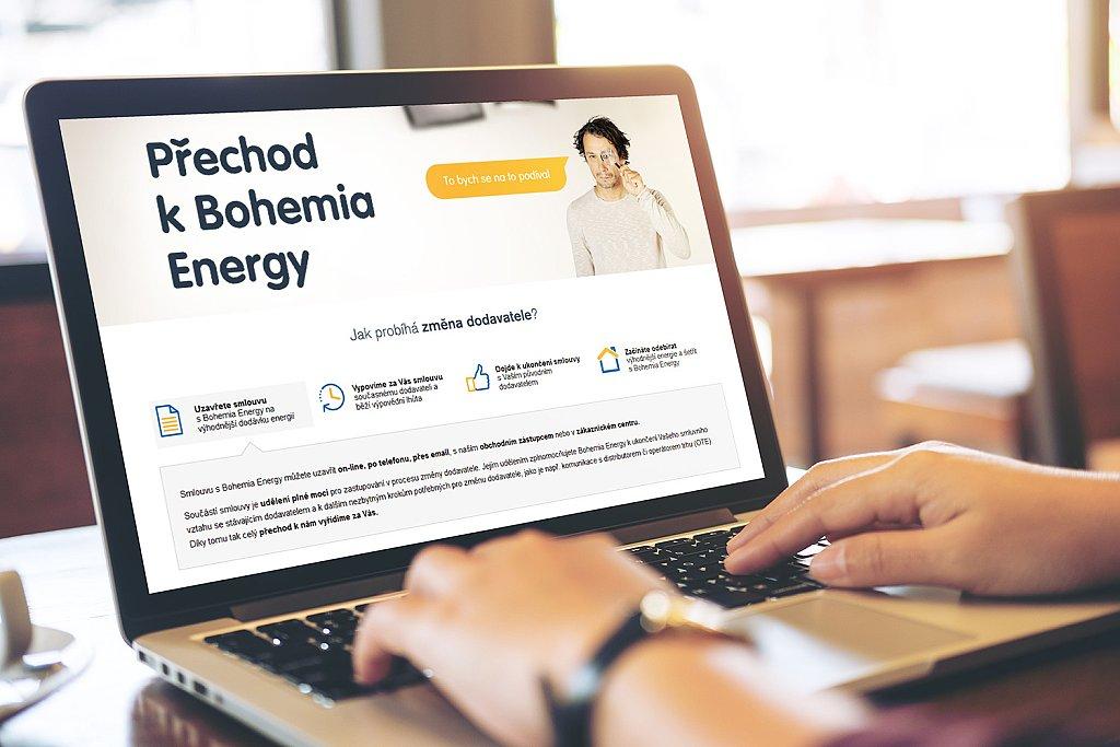 Přechod k Bohemia Energy