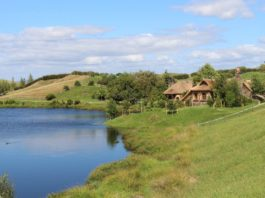 Chata u jezera - ilustrační foto Pixabay