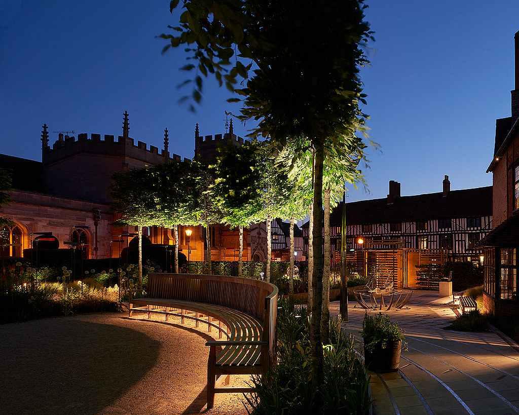 Shakespere's New Place, Stratford-Upon-Avon