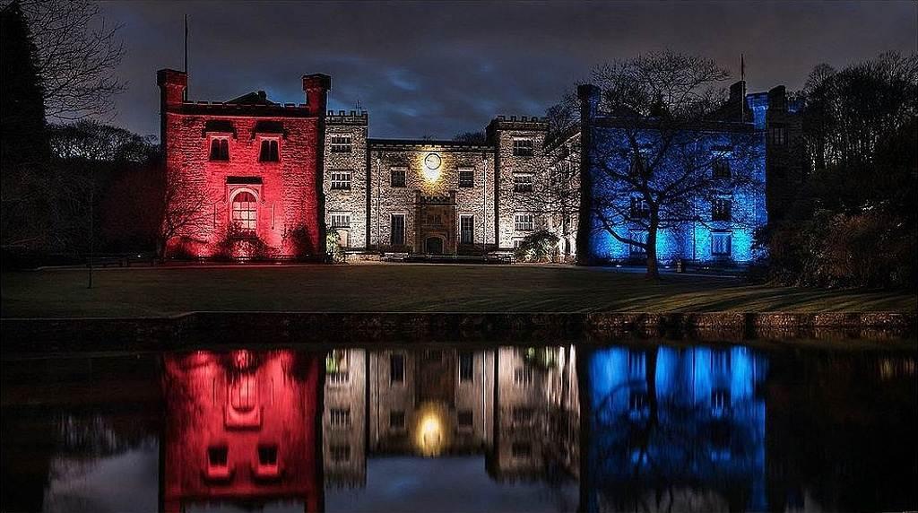 Towneley Hall poblíž Burnley, Anglie - foto 2