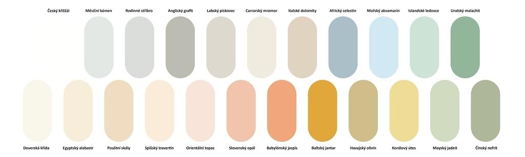 Primalex Ceramic - odstíny