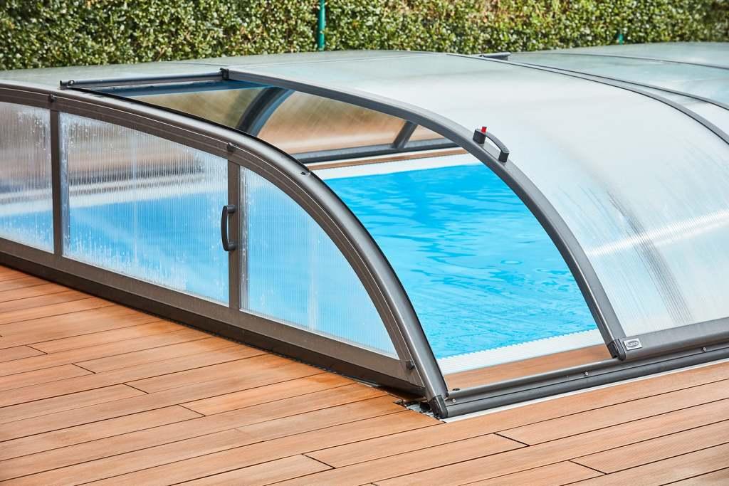 Albixon zastrešení bazénu a tepelné čerpadlo 2