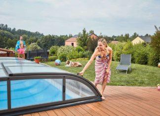 Albixon zastrešení bazénu a tepelné čerpadlo 1