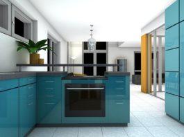 Kuchyň s obývákem