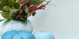 Primalex nápady - 16 barevné dýně, váza na květiny
