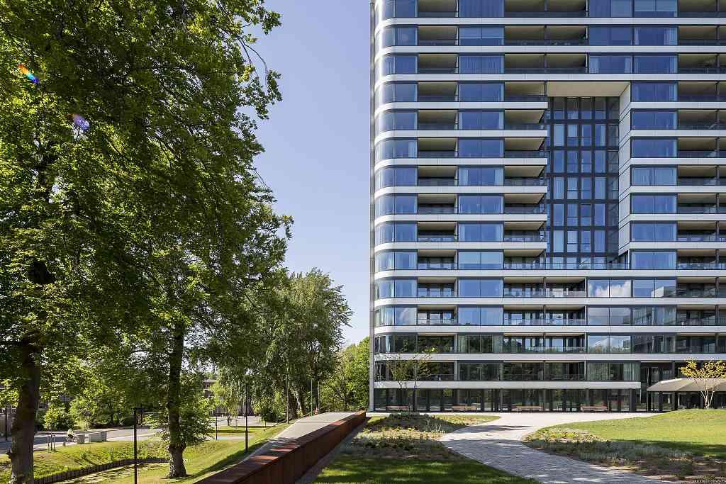 Park Hoog Oostduin - Haag (2) - po přestavbě