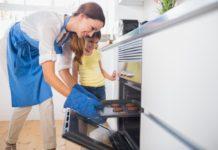 Elektřina úspory, pečení