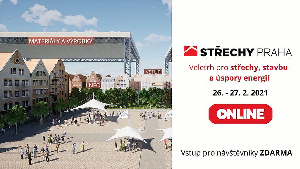 Veletrh Střechy Praha 2021 online - ilustrace 01