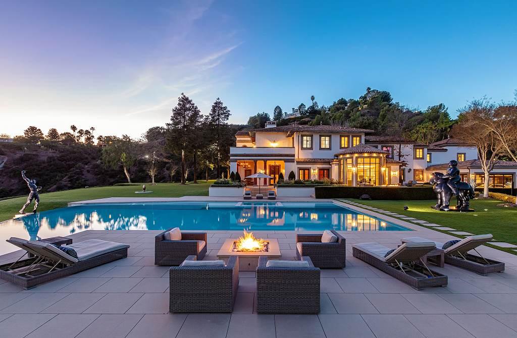 Hilton&Hyland - sídlo Sylvestera Stalloneho v Los Angeles je na prodej 12