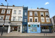 Nejužší dům v Londýně - foto 000