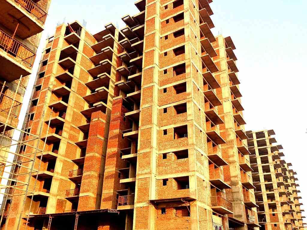 Stavba bytových domů - ilustrační (Pixabay)