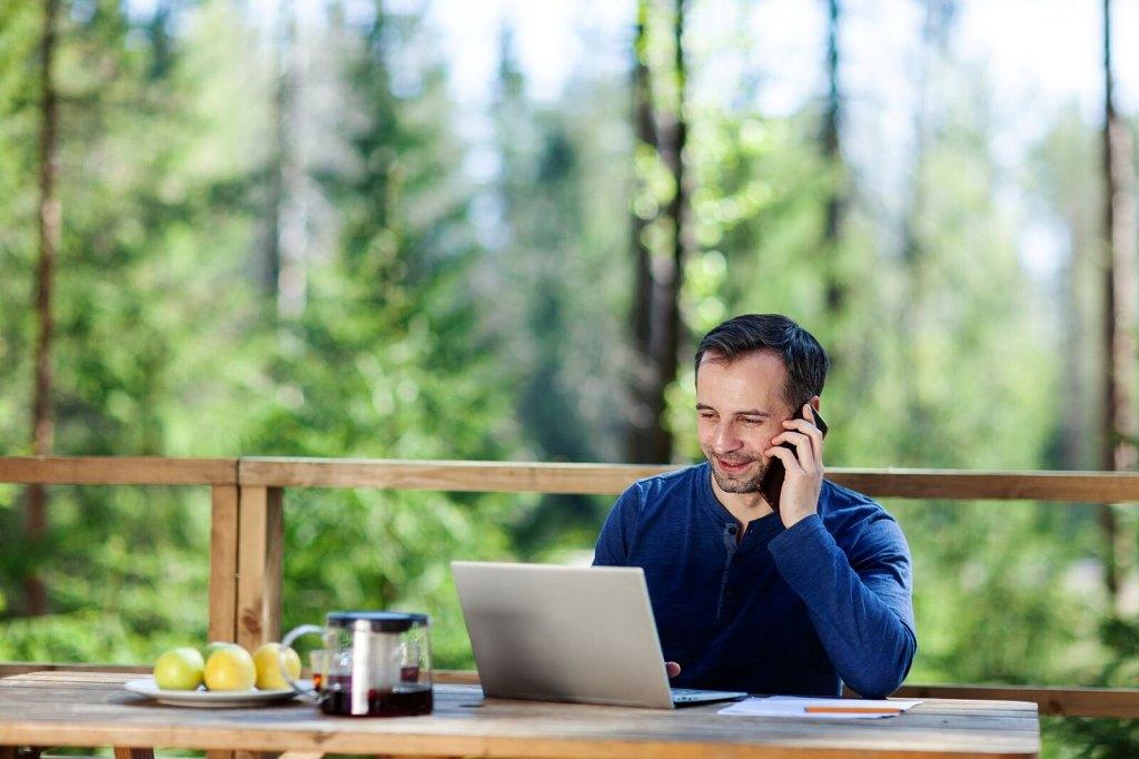 Venkovní kancelář - ilustrační foto (Shutterstock)