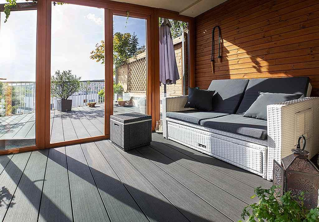 WPC Woodplastic - terasa Terafest Max Forest Eben, prémiová řada