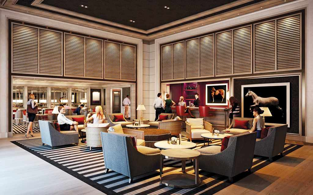 The Embassy Gardens Estate - Beckett Lounge